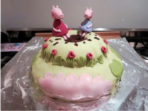 Fantatorte Peppa Pig Fanta-Torte, Fanta Tassenkuchen
