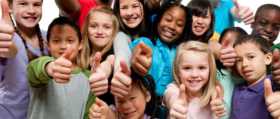 Kinder unterschiedlichster Nationalitäten