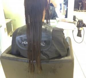 Voher Nachher beim Friseur