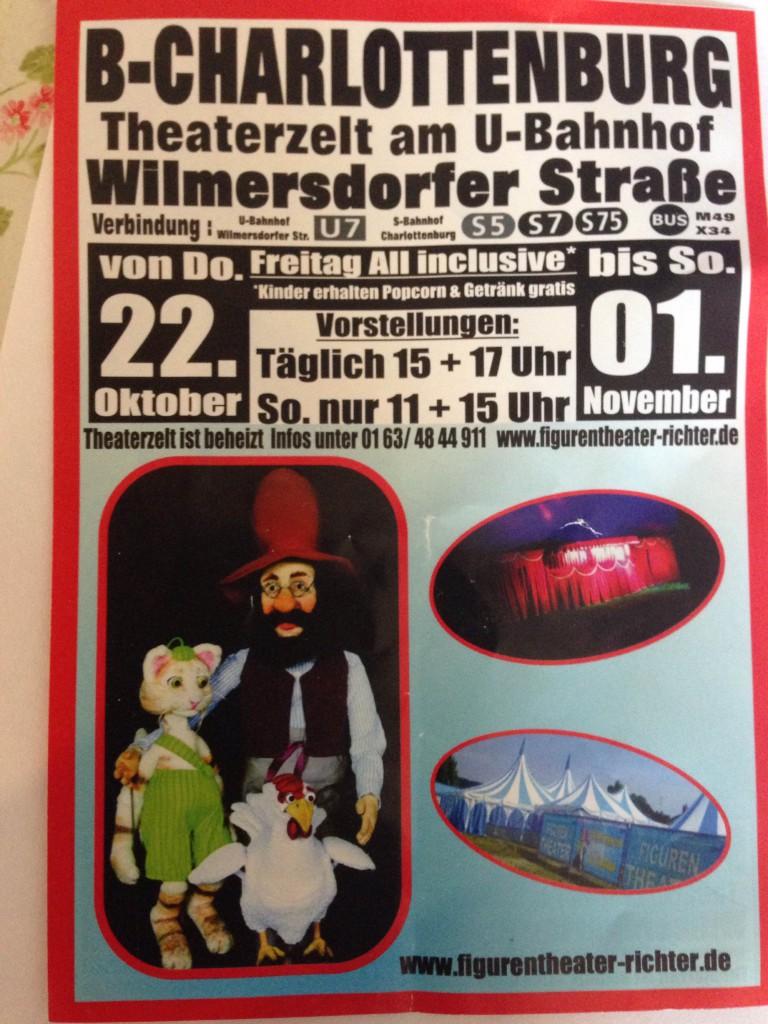 Puppentheater Pettersson und Findus