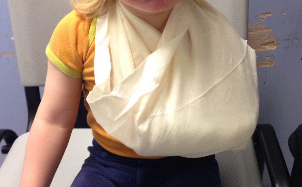 Handgelenksbruch 2Jährige