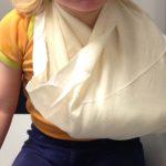 #WMDEDGT – Handgelenksbruch der 2 Jährigen