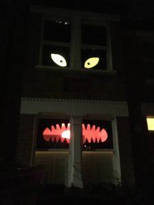 Halloween in London - Vordergärten und Kürbisse