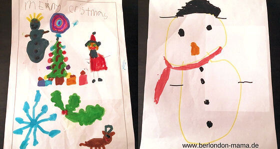 Selbstgemalte Christmascards zum Bestellen