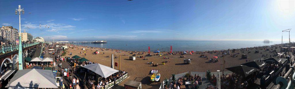 Panorama Brighton Pier