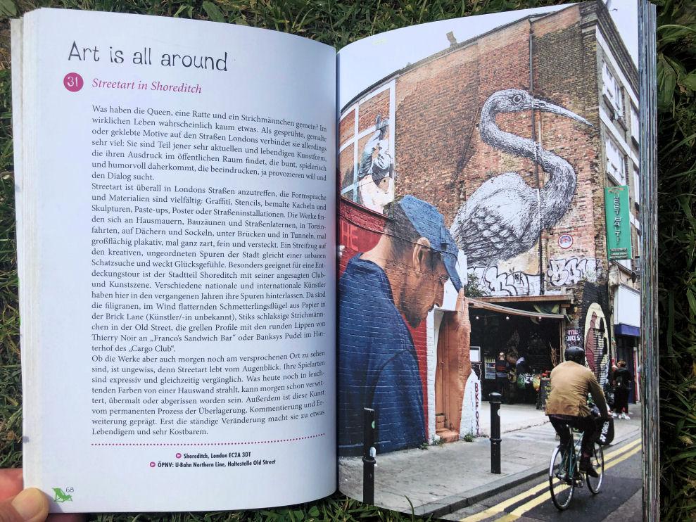 Glücksorte in London - Streetart in Shoreditch