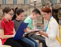 Julia Tourguide für Londontour für Kinder auf deutsch